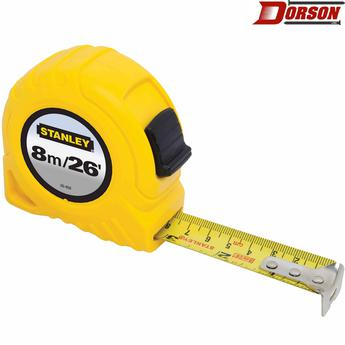 STANLEY 8m/26 ft Tape Measure