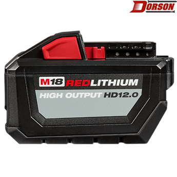 MILWAUKEE M18 REDLITHIUM™ HIGH OUTPUT™ HD12.0 Battery Pack