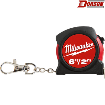 MILWAUKEE Milwaukee 6ft / 2m Keychain Tape Measure