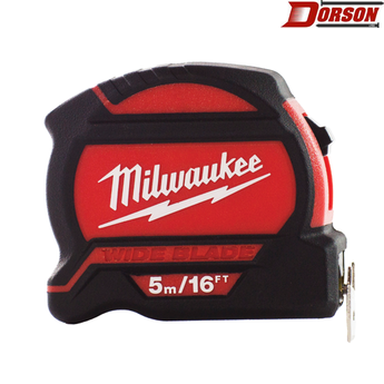 MILWAUKEE  5m/16ft Wide Blade Tape Measure
