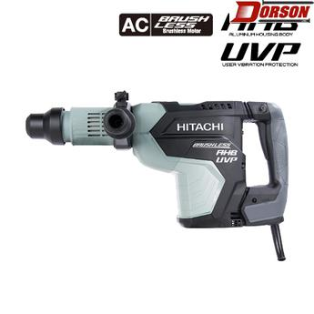 "HITACHI DH45MEY 1-3/4"" AC Brushless, AHB Aluminum Housing Body, UVP User Vibration Protection, AC/DC SDS Max Rotary Hammer"