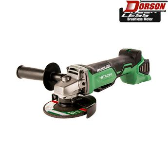 "HITACHI G18DBALP4  18V Brushless Lithium Ion 4-1/2"" Angle Grinder (Tool Body Only)"